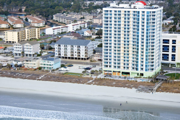 Towers at North Myrtle Beach Exterior