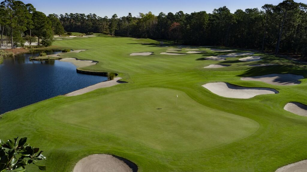 Myrtle Beach National Kings North Hole 18